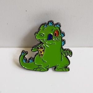 Jewelry - Reptar with Pizza Pin